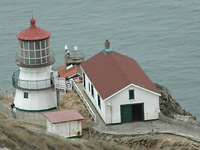 Point Reyes Lighthouse . . .