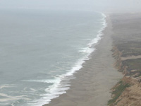 Above Point Reyes . . .