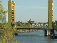 Sacramento Tower Bridge . . .