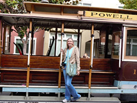Evelyn's cable car . . .